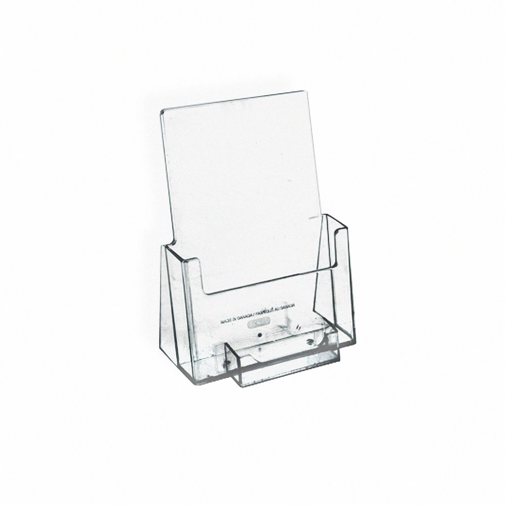 Amazon.com: Azar 252922 Counter Trifold Brochure Holder with ...