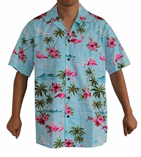 Blue Aloha Shirt - 4