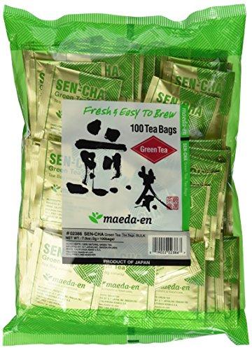 Sencha Green Tea (Maeda Sencha Green Tea, 100-Count, 7-Ounces Bag.)