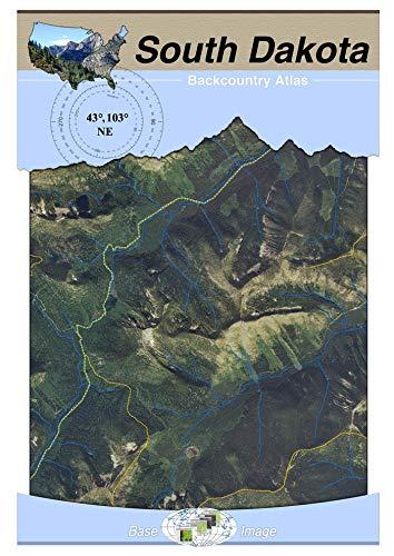 43°103° NE - Mount Rushmore, South Dakota Backcountry Atlas (Aerial)
