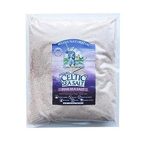 Gut Health Shop 517H3OhmSoL._SS300_ Celtic Sea Salt Pink Sea Salt Bag, 5 Pound