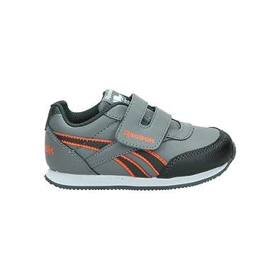 7fec220e4233 Reebok Unisex Babies  Royal Cljog 2rs Kc Shoes for First Steps Grey Size   2.5
