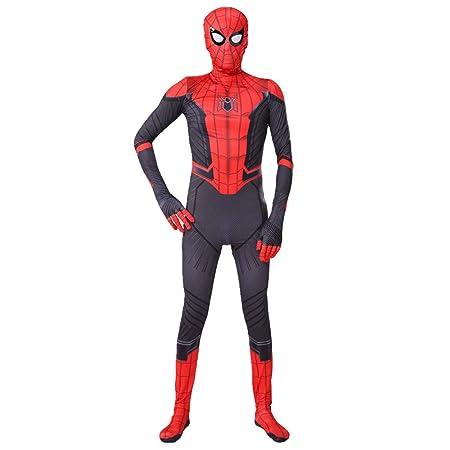 Spider-Man Ropa Niños Hombres Niños Superhéroe Spiderman Medias ...