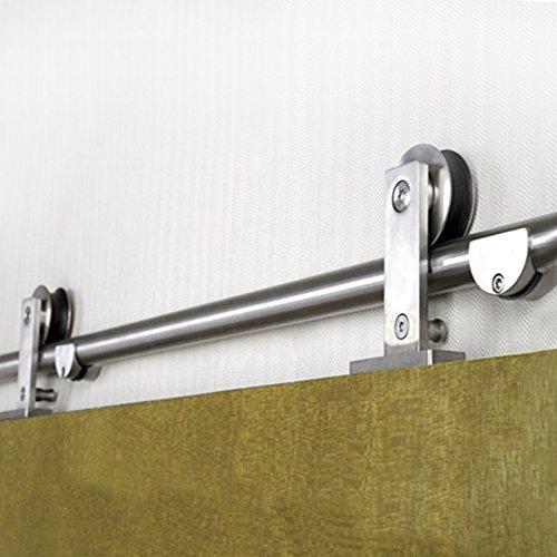 sliding door hardware stainless - 9