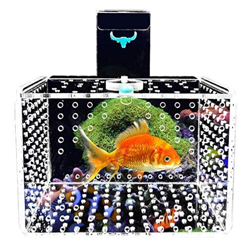 Fish Guppy Breeder Box,Brine Shrimp Hatchery,Fish Breeding Boxes, Guppies Hatching Incubator Isolation Box,Perfect Isolator for Aggressive Fish Injured Fish Small Fish Shrimp Clownfi