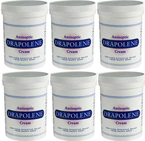 Drapolene Antiseptic Nappy Rash Cream 350g x 6 Packs