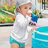Snap Reusable Absorbent Swimsuit Diaper-Aqua-4T