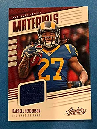 half off 9f398 96dc0 Amazon.com: 2019 Absolute Football Absolute Rookie Materials ...
