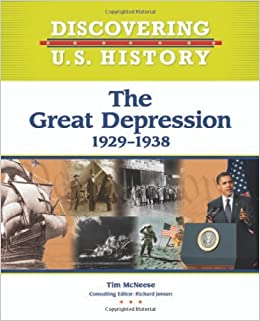 Amazoncom The Great Depression 1929 1938 Discovering Us - The-great-depression-1929