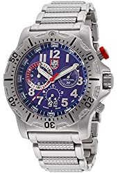 Luminox Men's Chronograph Blue Dial stainless Steel