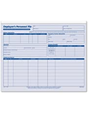 Adams Employee's Personnel File Folder, 11.75 x 9.5 Inches, Blue/White, 20 Pack (A9287) by TOPS Business Forms, Inc.