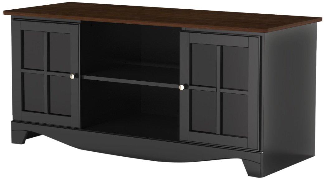 Amazon Com Pinnacle 54 Inch Tv Stand 101225 From Nexera Cinnamon
