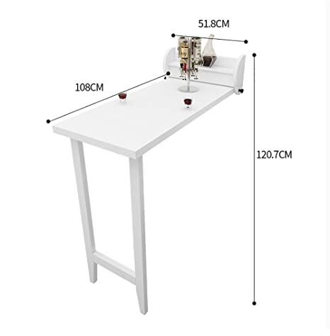 Amazon.com - Folding Table Wall Mounted Table Folding Tabel ...