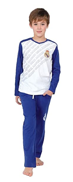 Real Madrid Pijama Oficial Adulto + Regalo Bolígrafo (M)