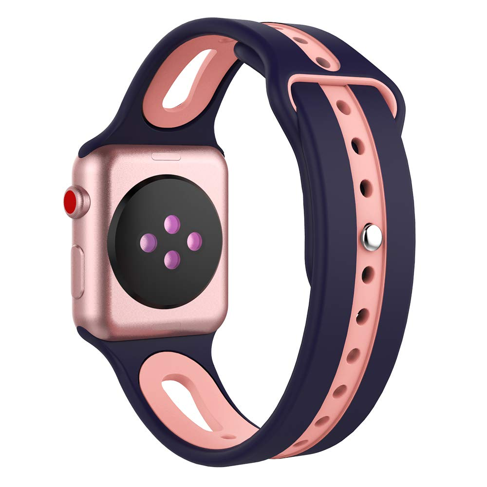 e69b9cab5e ... Mostof Compatible for Apple Watch Band 38mm 42mm