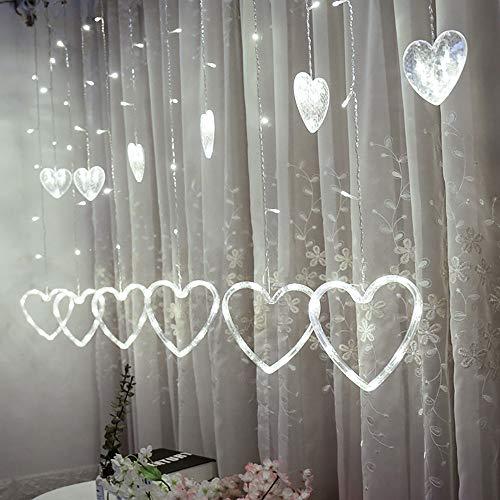 Ouniman Multicolor Heart Shape LED String Light Fairy