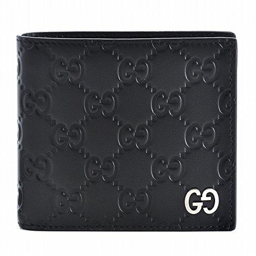 GUCCI(グッチ) メンズ 財布 Dorian メンズ 二つ折り財布 473922 CWC1N 1000 [並行輸入品] B07525S4LL
