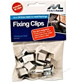 Hall clips -Bag of 50 - Lead flashing fixing clip - Fixed in a flash! Quick flashing clips easy flash use in the chase to dress before pointing or sealing by Hall