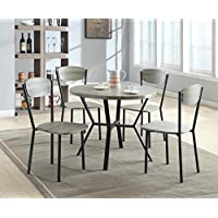 Crown Mark - Blake 5 Piece Dinette Set