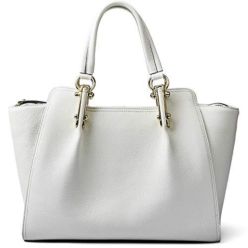 Women Genuine Leather Handbags Top-handle Bags Supple Hobo Bags Cowhide Satchels Shoulder Bags