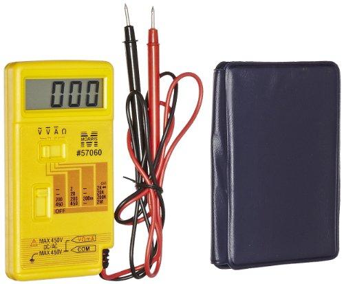 Morris Products 57060 Pocket Digital Multimeter with Vinyl Case