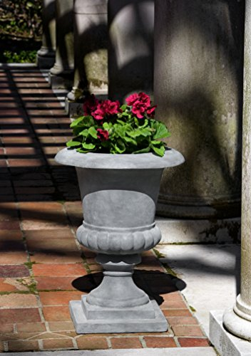 (Campania International 94-704-3401 Adrano Lite Urn, Lead Finish)