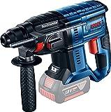 Bosch Professional 0611911000 Perforateur sans Fil Sds-Plus Gbh, Noir/Bleu/Rouge, (Sans Batterie et Chargeur)