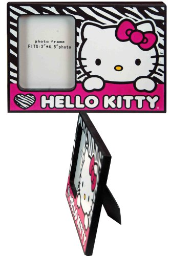 Photo Frame - Hello Kitty - Zebra Black/ - Frame Zebra Black