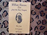 img - for William Everson: Poet from the San Joaquin book / textbook / text book