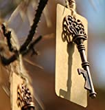 Product review for 50pcs Wedding Favors Skeleton Key Bottle Opener with Escort Tag Card