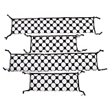 Best Bacati Baby Cribs - Bacati Dots/Pinstripes Black/White Bumper Pad Review