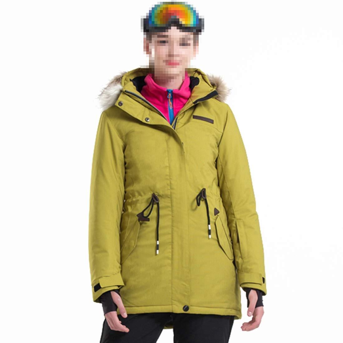 FELICIKK Giacca da Sci da Snowboard Snowboard Snowboard Traspirante Impermeabile da Donna (Coloree   giallo, Dimensione   XXL)B07N43LHJDM giallo | Delicato  | Prezzo economico  | Elegante e solenne  | Prodotti Di Qualità  d537cf