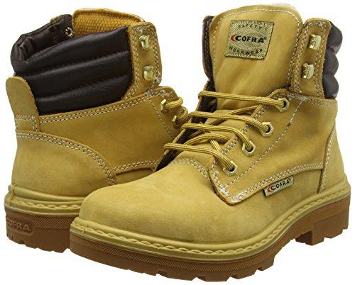 """Cofra 25550–001.w39taglia 39s3src """"Kaibab bis"""" sicurezza scarpe, colore: marrone/cammello"""