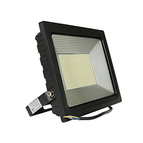 Oyep (TM) 100w LED Outdoor Flood Lights Security Light Waterproof IP65 Projector Landscape Spotlights lights Ad Billboard Lamp 4000lm 150w Halogen Bulb Equivalent (150W Cool White)
