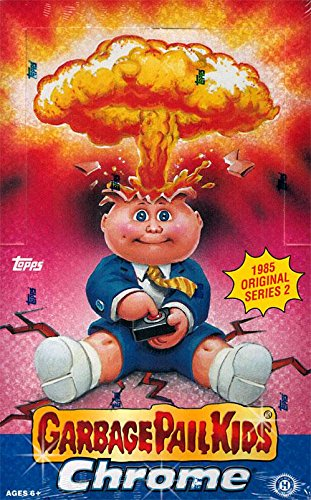 Topps Garbage Pail Kids 2014 Chrome Series 2 Hobby Box 24 Packs