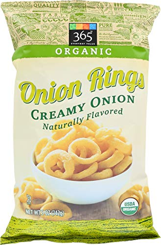 365 Everyday Value, Organic Onion Rings, 5 oz (Best Frozen Onion Rings)