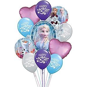 Ziggos Party Frozen 2 Deluxe Birthday Bouquet