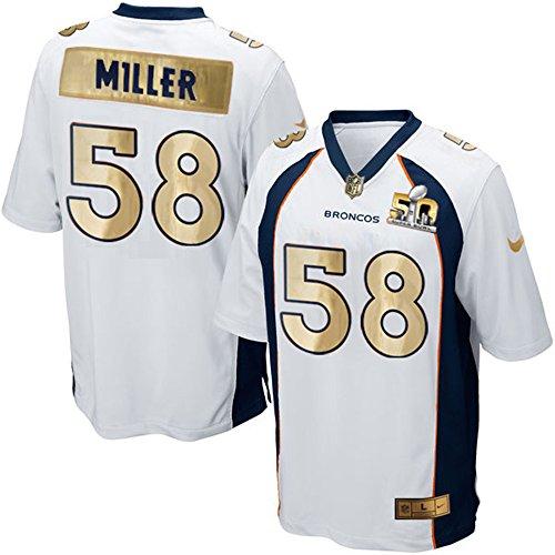 #58 MILLER Super Bowl 50 Jersey
