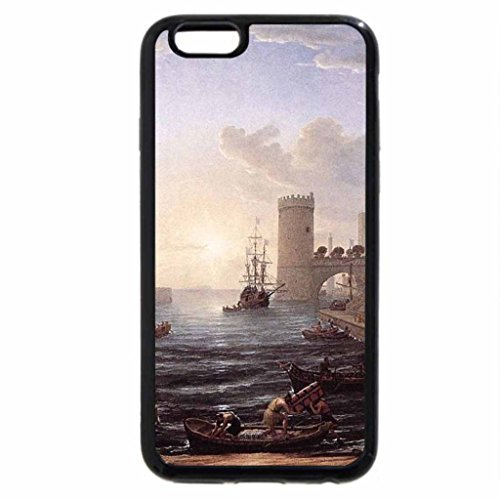 iPhone 6S / iPhone 6 Case (Black) Claude Lorrain - Seaport With the Embarkation of the Queen of Sheba