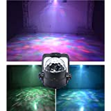 Party Light Disco Light Dj Dance Light Projector Wonsung Soothing Ocean Wave RGBW 14-color Water Ripple Effect LED Mood Light for New Year Christmas Wedding Party Bar Pub