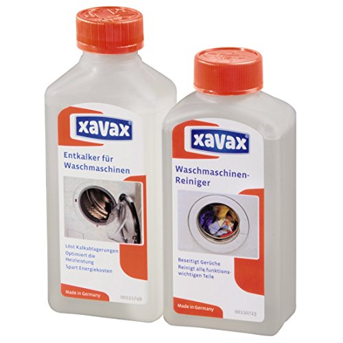 Xavax Waschmaschinen-Pflege-Set, Entkalker plus Reiniger