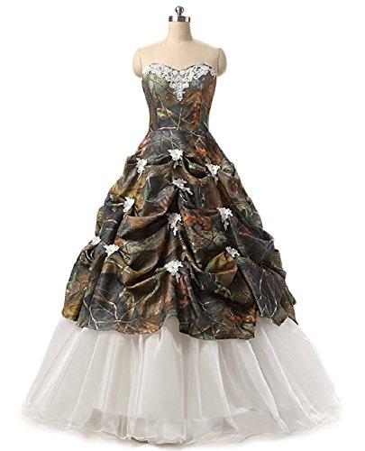 formal camo dresses prom - 7