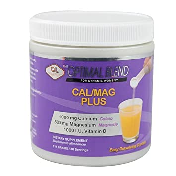 Olympian Labs Calcium/Magnesium Plus - Optimal Blend - 111grams by Olympian Labs