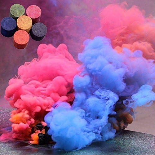 Alftek 6 Farben Rauch Kuchen Runde Fotografie Requisiten Film B/ühnenshow Party Raucheffekt