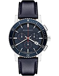 Burberry BU9383 Watch City Mens - Blue Dial Stainless Steel Case Quartz Movement