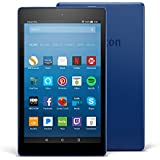 """Fire HD 8 Tablet with Alexa, 8"""" HD Display, 32 GB, Marine Blue - with Special Offers (Previous Generation – 7th)"""