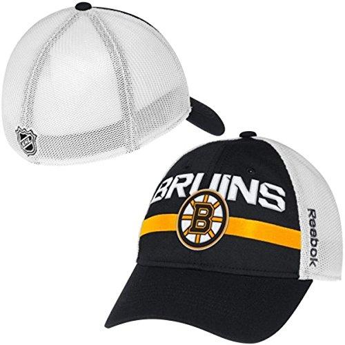 Boston Bruins Reebok NHL 2014 Center Ice Mesh Back Flex Fitted Hat
