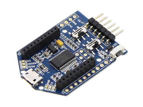 In ZIYUN UartSBee V5,is the Mesh Bee programmer version based on UartSBee v4,is FTDI cable compatible USB to Serial adapter equipped with BEE socket(20pin 2.0mm)