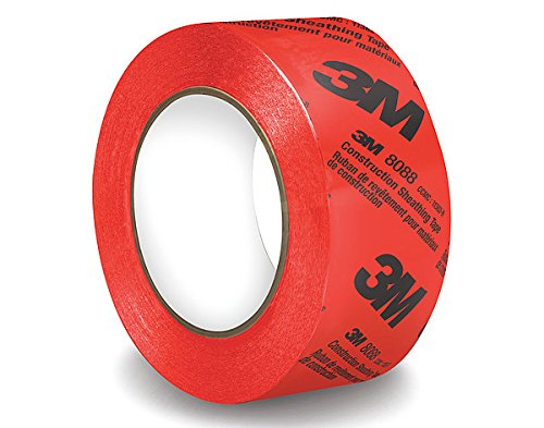 Trim Adhesive General (3M 31861 Construction Sheathing Tape 8088, 60 mm x 66 m)