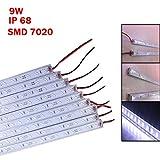 50cm IP68 9W SMD 7020 36LED White LED Rigid Strip Swimming Pool 12V